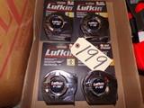(4) Lufkin 25' tape measure