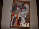 New assorted screwdrivers and wire pliers