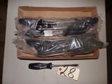 (2) Dozen New SDR-26 flathead wood handle screw drivers