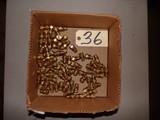 Partial box of brass spray tips