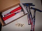 (7) 18 oz. Vaughan hammers (new)