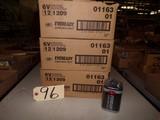 (3 cases) 6 volt lantern batteries (new)