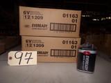(2 cases) 6 volt lantern batteries (new)
