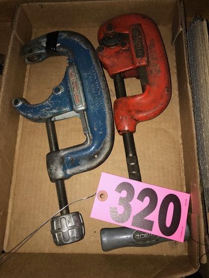 (2) Rigid pipe cutters