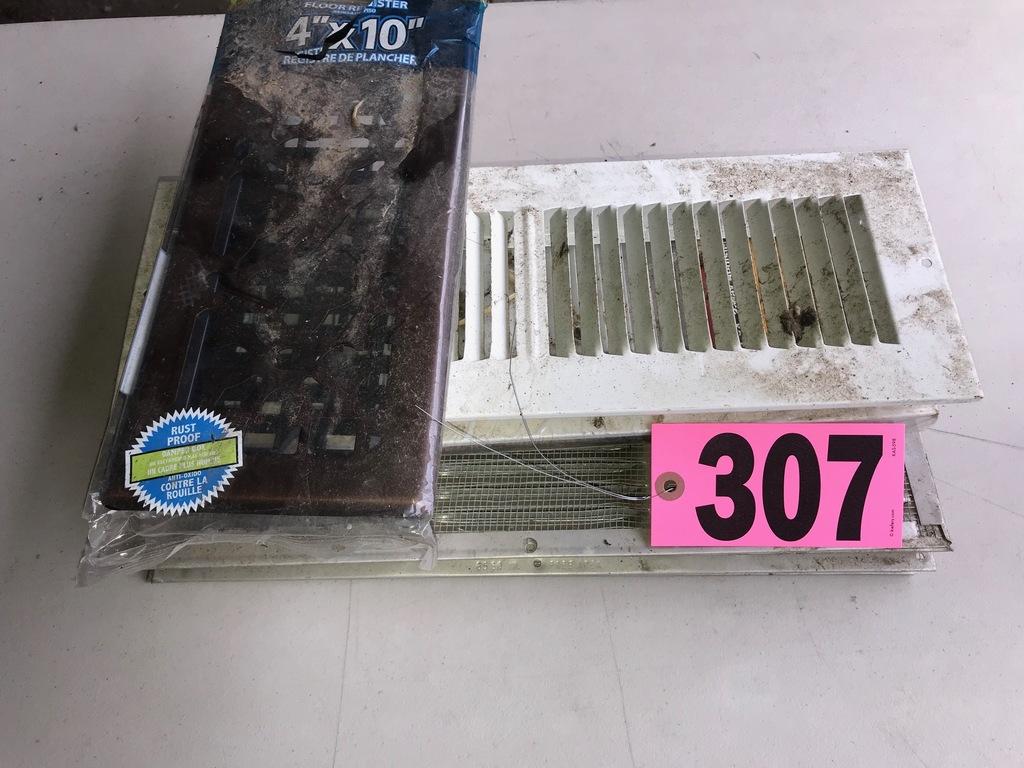 Lot of floor registers & vents