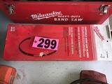 (4) Milwaukee portbale bandsaw blades