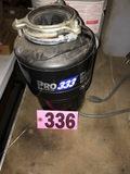 Pro-333 in sink erator, 3/4HP garbage disposal
