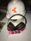 (2) Hard hats & ear muffs
