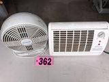 Heater & fan