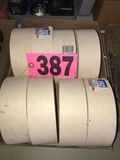 (8) Rolls of paper drywall tape