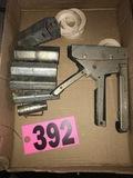 Sockets & staple gun