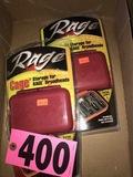 (2) Rage broadhead storage boxes