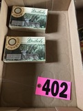 (2) Boxes, 20 rounds ea. Of Weather bee .270 ammo
