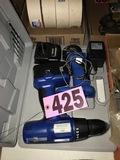 Battery 18V cordless drill kit (weak battery)