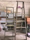 (2) 7' & 6' Ladders