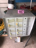 12 Compartment metal mailbox