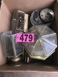 Box of ceiling light fixtures