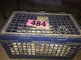 Crate of PVC fittings