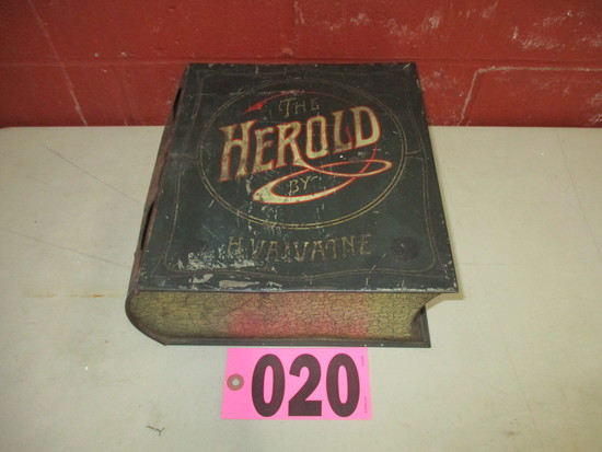 The Herald smoked sardine tin