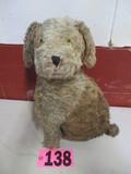 Vintage stuffed dog