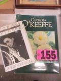(2) Georgia O'Keefe books