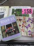 (3) Outdoor gardening books