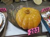 Large metal leaf and pumpkin
