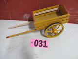 Small wood pony wagon