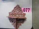 Cast Iron curio shelf