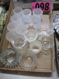 Lg. box of votive candle holders
