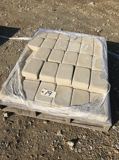 """Pallet of 8 1/4"""" x 5.5"""" pavers"""