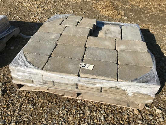 """Pallet of 12"""" x 8' pavers"""