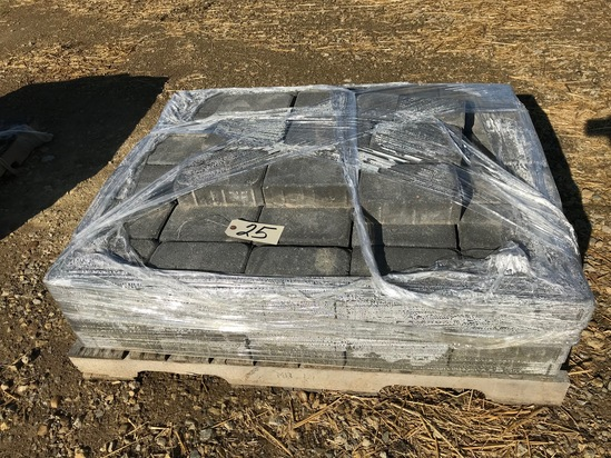 """Pallet of 8"""" x 5.5"""" pavers"""