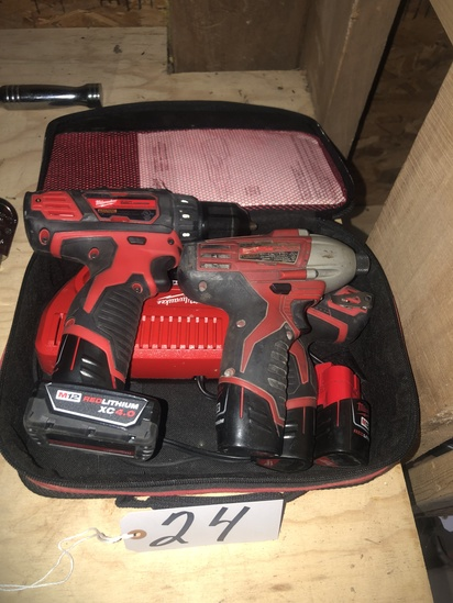 Milwaukee cordless tools & charger