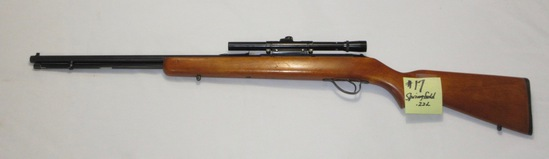 Springfield .22L, Savage 4x15 scope, model 187S