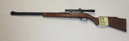 Marlin Glenfield Mod 60.-22L w/Glenfield 4x15 scope rifle