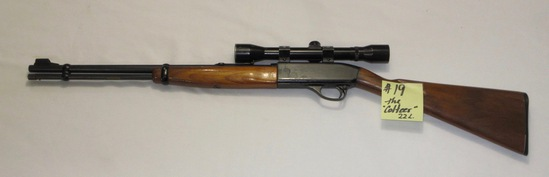 "Colt the Colteer 4-22"", .22L rifle w/valor 4x32 scope"
