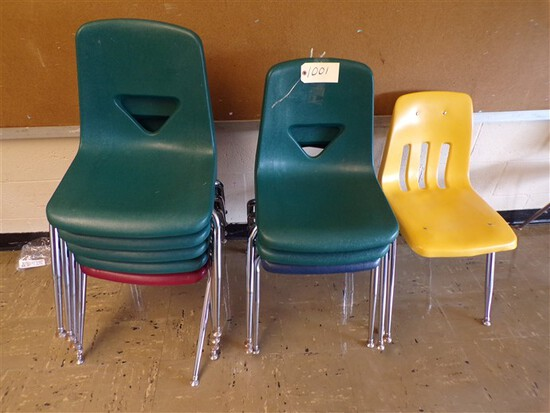 (8) Assorted desk chairs (rm 1)