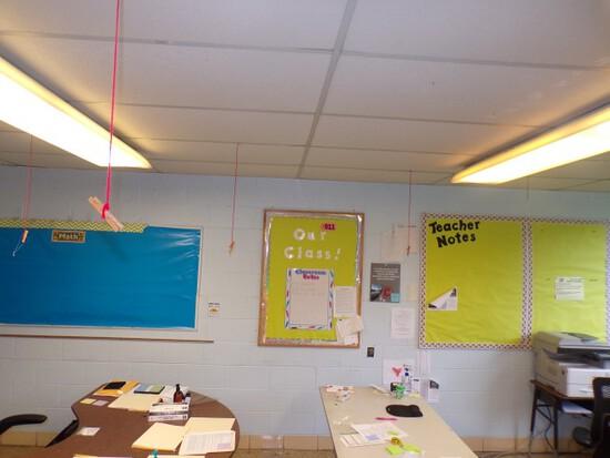 (4) Framed bulletin boards (Rm 306)