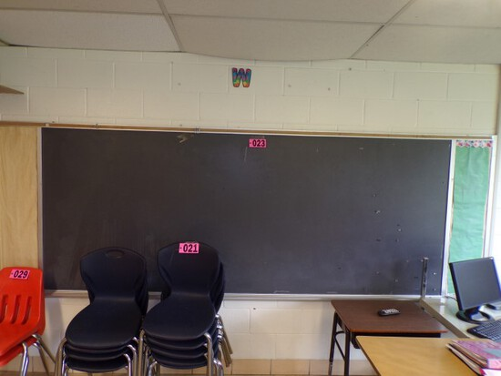 10-12 ft blackboard & bulletin board (Rm 304)