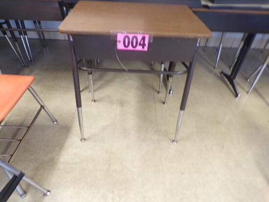 """Approx. (20)Student formica top desks w/ adj. legs 24""""x18"""" (Rm. 307)"""