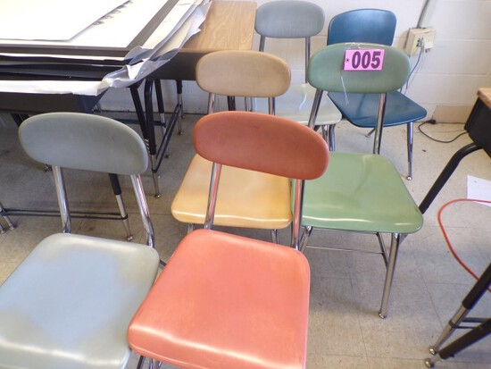 Approx. (10) Assorted student chairs (Rm 307)