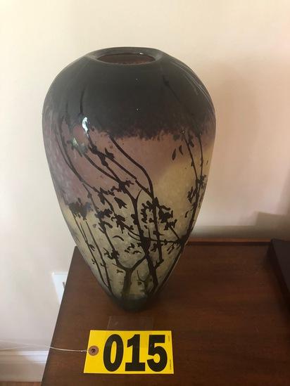 Contemporary cameo vase  - NO SHIPPING NO SHIPPING