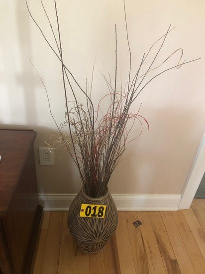 Decorative Vase  - NO SHIPPING NO SHIPPING