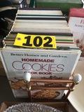 Cookbooks & holder  - NO SHIPPING NO SHIPPING