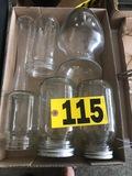 Canning jars & vase  NO SHIPPING