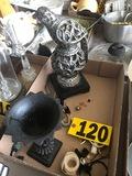 Bird sculpture & vase  NO SHIPPING