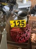 Decorative vases & pumpkin  NO SHIPPING