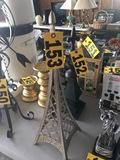 Metal Eifel Tower  NO SHIPPING