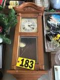 Mini Grandfather wall clock  NO SHIPPING